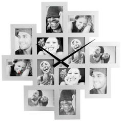 Photo Frame Cluster Clock