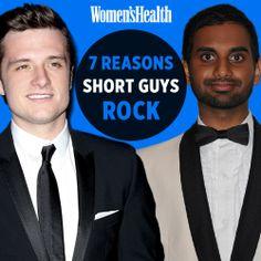 7 Reasons Short Guys Rock: http://www.womenshealthmag.com/sex-and-relationships/short-men?cm_mmc=Pinterest-_-womenshealth-_-content-sex-_-shortguys