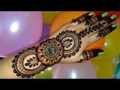 Latest Henna Designs, Mehndi Designs For Girls, Mehandi Designs, Beautiful Rangoli Designs, Valentino, Tattoos, Blossoms, Youtube, Tatuajes