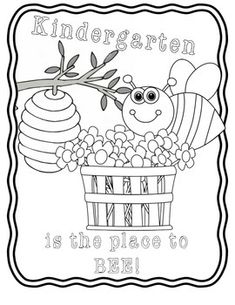 This is an image of Crazy Welcome To Preschool Coloring Page