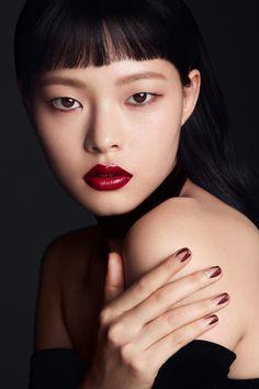 Kim Ah Hyun by Lee Seung Yeop for Clio Nov 2016