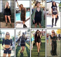 black - Coachella 2016 - style - festival style - looks - nick na europa