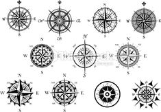 ancient compass art - Google Search