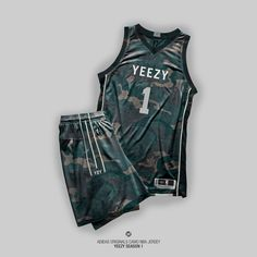 Danish designer Patso Dimitrov tackled the mind of Kanye West in his latest work, creating a full line of Yeezy Season 1 NBA jerseys. Rita Ora Adidas, Sport T Shirt, Sport Wear, Nike Outfits, Sport Outfits, Kanye West, Yeezy Collection, Yeezy Season 1, Sports