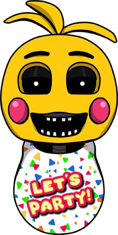 Toy Chica Head by kaizerin.deviantart.com on @DeviantArt #freddy #fnaf #fnaf2 #fivenightsatfreddys #foxy #chica #bonnie #securityguy #mangle #pizza #logo #goldenfreddy #shadowbonnie #toybonnie #toychica #endoskeleton #toychica #puppet