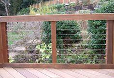Raised Deck Project | deck- railing
