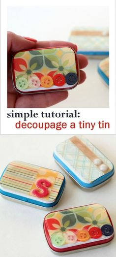 Do you save all of your used Altoids containers in the hopes of crafting with them? Learn how to decorate Altoid tins using Dimensional Magic! via @modpodgerocks
