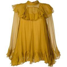 Chloe ruffle blouse