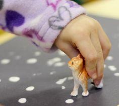 Fun Art Projects for Kids - Pet Theme Process Art