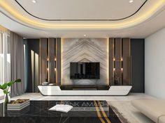 Lcd Unit Design, Modern Tv Unit Designs, Modern Tv Units, Tv Unit Furniture Design, Tv Unit Interior Design, Bedroom Bed Design, Home Room Design, House Design, Tv Cabinet Design