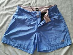 The North face Womens Size Small Blue Lined Athletic Shorts  #TheNorthFace #Shorts