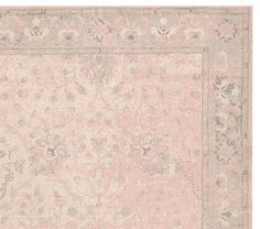 Monique Lhuillier Printed Rug - Blush Pink | Pottery Barn Kids