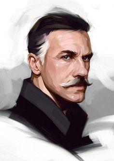 New Celebrity Illustrations by Viktor Miller-Gausa: