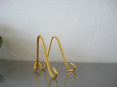 20 pk Small GOLD  MINI Easel Holders Business card by soami, $16.00