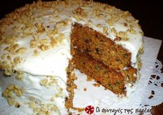 Carrot Cake Recipe--Antoher pinner wrote:I made this and husband says its the best he ever ate :)) I also added of coconut rum soaked golden raisins to the recipe--this is the best carrot cake I swear! Sugar Free Carrot Cake, Homemade Carrot Cake, Best Carrot Cake, Carrot Cakes, Carrot Cake Recipe With Baby Food, Apple Cake, Easy Cake Recipes, Baby Food Recipes, Dessert Recipes