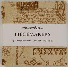 charm pack Piecemakers by kathy schmitz llc for moda