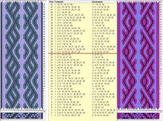 28 tarjetas, 3 colores, repite cada 24movimientos // sed_752b & c diseñado en GTT༺❁