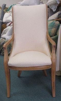 Henredon Slipper Chair in Cream Matelasse by WydevenDesigns, $570.00
