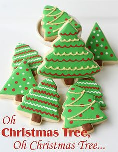 Glorious Treats » Christmas Cookies and Cute Packaging