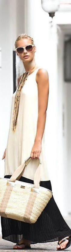 Love this! Chic, classy, comfortable and easy!