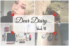 Big Makeup Haul & Tattooing | Dear Diary Week 48. - Beauty-Blush