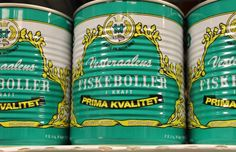 Vesteraalens – Iconic Fish Balls for a Century...  Fish balls are a popular dish in Norway. Fish balls contains minced white fish (cod and haddock), and usually milk, cornflour and salt. They should be served in thick white sauce with curry.