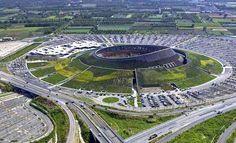 Renzo Piano Defies Nature With the 'Vulcano Buono' #architecture trendhunter.com