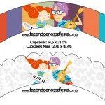 Kit digital de personalizados do tema Palavra Cantada pronto para imprimir!