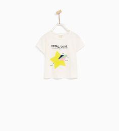 ZARA - KIDS - STAR T-SHIRT