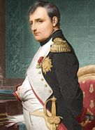 Napoleon Bonaparte was one of the greatest military leaders in history and emperor of France, he conquered much of Europe.