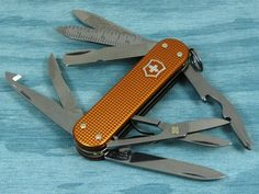 Victorinox Minichamp, Orange Alox