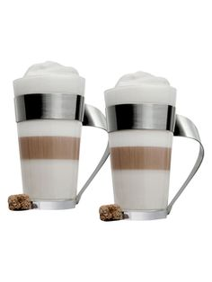 New Wave Latte Macchiato Cups (Set of 2) from Villeroy & Boch on Gilt