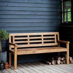 Garden Bench | www.graceandgloryhome.co.uk