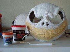 Homemade Jack Skellington DIY Halloween Costume Idea