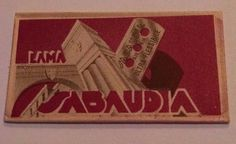SABAUDIA Double Edge Safety RAZOR BLADE in Wrapper RBW Italy