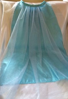 Frozen Cape with Sparkly Tulle for any Elsa or by CapesAndMore, $22.00