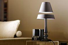 Levitating Lamp by Angela Jansen