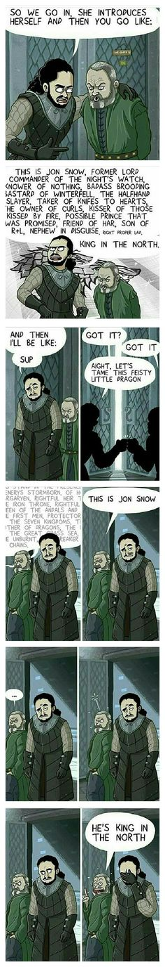 How Davos was supposed to introduce Jon