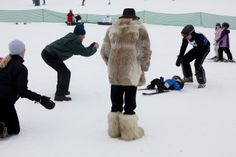 """""""For the winter holiday, here is a selection of pictures by Martin Parr, master of the leisure-class photograph—from indoor skiing in Dubai to the mountain resorts of Switzerland."""" #photography #snow #winter #skiing"""