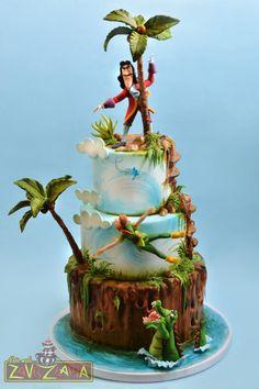 Peter Pan and Captain Hook Cake by Nasa Mala Zavrzlama