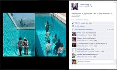 """Fake pools in Japan"": 70,075 Likes 