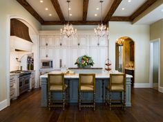 If you love style that is warm, comfortable, and beautiful all at the same time, you're likely a fan of French country designs. A French country kitchen is no different – in a place that has historically been the working-horse of the home, the kitchen designed in a French country style evokes a familiar, friendly feeling of a traditional and somewhat simple life.