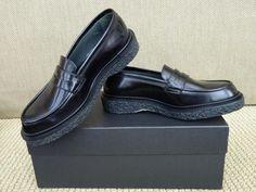 Adieu Paris Penny Loafer Type 5 Black Leather NIB $575 5.5 US 37 FR #Adieu #LoafersMoccasins