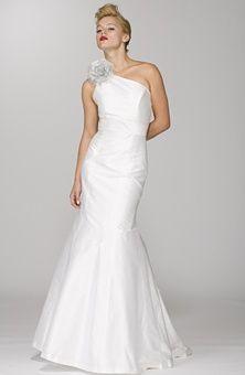 simple but modern, wedding dress by Aria Wedding ??? Planner  | Big Fashion Show modern wedding dresses