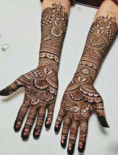 Henna Hand Designs, Mehndi Designs Finger, Wedding Henna Designs, Engagement Mehndi Designs, Latest Bridal Mehndi Designs, Full Hand Mehndi Designs, Mehndi Designs 2018, Mehndi Design Photos, Beautiful Mehndi Design