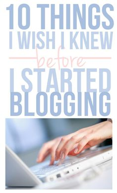 10 things about blogging