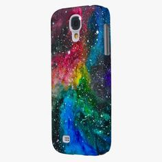 It's cute! This Universe Galaxy S4 Case By Megaflora is completely customizable and ready to be personalized or purchased as is. Click and check it out!