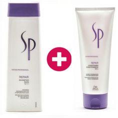 Wella SP Repair - Set (2tlg) - Die perfekte Pflege für strapaziertes Haar.