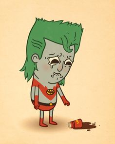 Captain Planet by Mike Mitchell http://www.sirmikeofmitchell.com/index.php?/just-like-us/