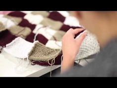 Tuto : le plaid d'automne - YouTube